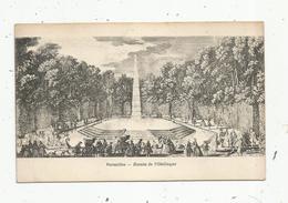 Cp ,78 , VERSAILLES ,bassin De L'Obélisque , Vierge ,imp Edia - Versailles (Castello)