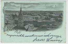 TCHÉQUIE - Gruss Aus TROPPAU (1902) - Tchéquie