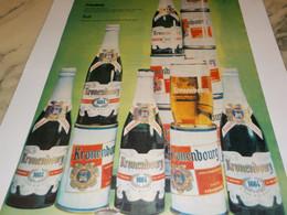 ANCIENNE  PUBLICITE  BIERE 1664 KRONENBOURG 1960 - Alcohols