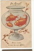 CPSM, Th. Fête , N° 960/4, 1  Avril ,  Douce Occasion De Vous Dire Mon Affection ,Ed. 1955 - 1er Avril - Poisson D'avril