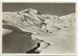 AROSA Carmenna-Skilift (Einriss Am Rechten Kartenrand) - GR Grisons