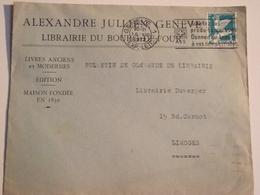 Enveloppe Postée à  GENÈVE , Suisse, Pour Limoges, 1932 - Switzerland
