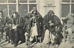 Pays  Div.-ref R543- Syrie - Syria - Alep - Café Bedouins - Tabac -pipe A Eau - Narguilé - Chicha  - - Syrie