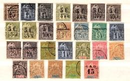 Guadeloupe Belle  Petite Collection Neufs Et Oblitérés 1889/1903. Bonnes Valeurs. B/TB. A Saisir! - Guadeloupe (1884-1947)