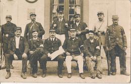 54) VEZELISE : Carte-Photo : Employés De La Gare (scan Recto/verso) - Rare !! - Vezelise