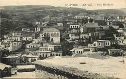 Pays  Div.-ref R542- Syrie - Syria - Zahlé - Vue Generale - Carte Bon Etat - Postcard In Good Condition  - - Syrie