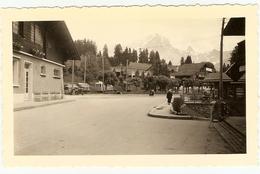 SUISSE - ( VILLARS ) Le Grand Et Le  Petit Muveran Vus Du Centre Du Village ( Photo: Format 12 X 7.5 ) - Lieux