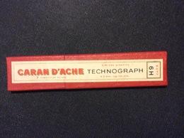 1 ETUI MINES GRAPHITE CARAN D'ACHE Technographe *6H  (6 MINES)  GRAPHITE LEADS - Autres Collections
