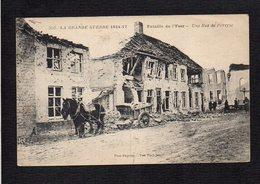 Belgique / Militaria / Bataille De L'Yser / Une Rue De Pervyse / Grande Guerre 1914/17 - België