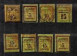 Guadeloupe Huit Classiques Neufs Et Oblitérés YT N° 2 Et N° 3/5. B/TB. A Saisir! - Guadeloupe (1884-1947)
