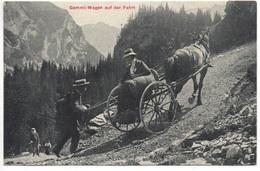 KANDERSTEG Gemmi-Wagen Auf Der Fahrt - BE Berne