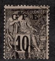 Guadeloupe Maury N° 11d Superbe Variété Surcharge Inversée Oblitéré. Double Signature. B/TB. A Saisir! - Guadeloupe (1884-1947)