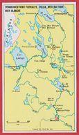 Communications Fluviales, Volga, Mer Baltique, Mer Blanche. Encyclopédie De 1970. - Vieux Papiers