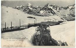 ZERMATT Gornergat-Bahn Station 1900 - VS Valais