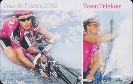 GERMANY Telekom Calling Card - Tour De France 2002 - 3€ - Mint -  Ex.07/2003 - Deutschland
