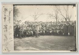 Carte Photo Militaria Musique Du 101 E Régiment Campagne 1914-15 - Oorlog 1914-18