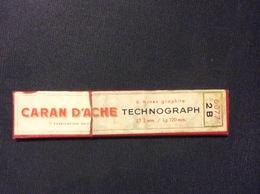 1 ETUI MINES GRAPHITE CARAN D'ACHE Technographe *2B (2 MINES)  GRAPHITE LEADS - Other
