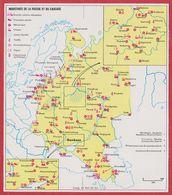 Industries De La Russie Et Du Caucase. URSS. Encyclopédie De 1970. - Vieux Papiers