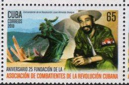 REVOLUTION FIGHTERS, 2018, COMBATANTS ASSOCIATION, MOUNTAINS, 1v - Stamps