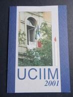 19884) TESSERA UCIIM 2001 UNIONE CATTOLICA ITALIANA INSEGNANTI MEDI - Old Paper