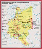 Ressources Minières Et Industries De Première Transformation De La Russie Et Du Caucase. URSS. Encyclopédie De 1970. - Vieux Papiers
