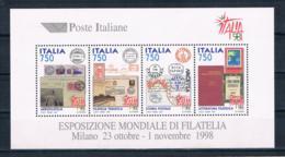 Italien 1997 Briefmarken Block 16 ** - 6. 1946-.. Repubblica