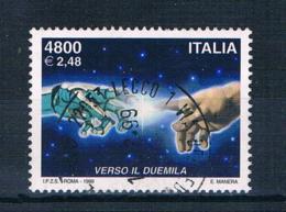 Italien 1999 Hände Mi.Nr. 2666 Gestempelt - 1991-00: Gebraucht