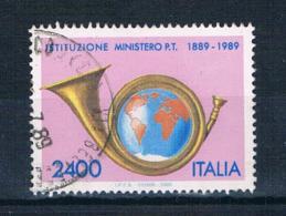 Italien 1989 Posthorn Mi.Nr. 2089 Gestempelt - 6. 1946-.. Republik