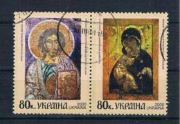 Ukraine 2000 Mi.Nr. 354/55 Gestempelt - Ukraine