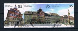 Schweiz 2007 Gebäude Mi.Nr. 1994/96 Gestempelt - Gebraucht