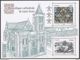 Bloc N° 4930 , Basilique Saint Denis - Blocs & Feuillets