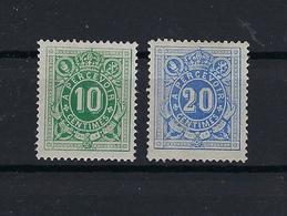 N°TX1/TX2 (ntz) (**) HERGOMD ZONDER SCHARNIER PRIJS VOOR MNH ** POSTFRIS ZONDER SCHARNIER COB € 357,00 - Revenue Stamps