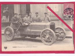 63-Coupe Gordon Bennett 1905 Organisée Par Les Frères Michelin --Léon Théry Sur Sa RICHARD-BRASIER-VOITURE ANCIENNE - Sport Automobile