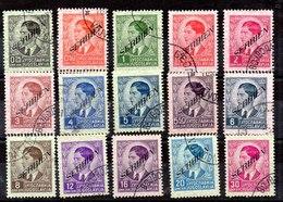 Serie De Ocupación Alemania Serbia N ºMichel 31/45 (o) - Occupation 1938-45