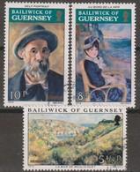 Guernsey 1974 Selezione 3v (o) - Guernesey