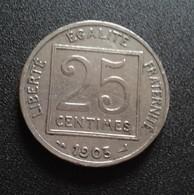 FRANCE -25 CENTIMES - 1903 - PATEY,   (B824) - France