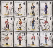 Guernsey 1974 Selezione 12v (o) - Guernesey