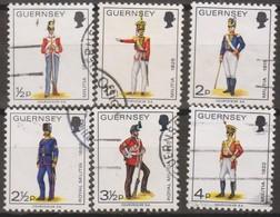 Guernsey 1974 Selezione 6v (o) - Guernesey