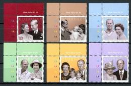 Guernsey MiNr. 1145-50 Eckrand Ol Postfrisch MNH Queen Elizabeth II. (P2760 - Guernsey