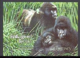 Guernsey MiNr. Block 45 Postfrisch MNH Gorillas, Affen (P2759 - Guernsey
