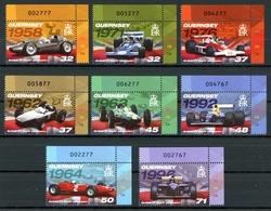 Guernsey MiNr. 1136-43 Eckrand Or Postfrisch MNH Formel 1, Motorsport (P2757 - Guernsey