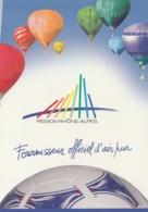 LOT REGION RHONE ALPES - MONDIAL DE FOOT 1998  - FOURNISSEUR OFFICIEL D'AIR PUR - Calcio