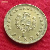 Uruguay 1 Peso 1965 KM# 46 Uruguai - Uruguay