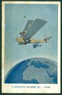 CARTOLINA - Z898 CARTOLINE AVIAZIONE1943 Aereo Caproni 90/6000 HP - 1930, Ill. Ferrari, FP, Viaggiata Da Milano 13.9.43 - Aviazione