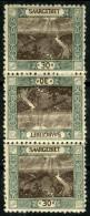 Sarre (1921) Tete Beche N 57c * (charniere) - Neufs