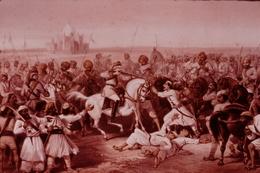 Photo Diapo Diapositive HISTOIRE La COLONISATION 1850-1914 N°5 En Inde La Révolte Des Cipayes J.L Charmet VOIR ZOOM - Dias