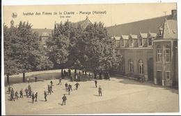 Institut Des Frères De La Charité - Manage (Hainaut) - Une Cour. 1943 - Manage