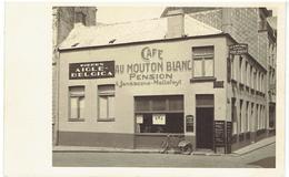 BLANKENBERGHE - Au Mouton Blanc - Café - Pension - Gelegen Naast Grand Hôtel Louis Trogh - Carte Photo - Blankenberge
