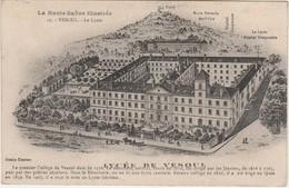 Carte Hôpital Temporaire Au Lycée De Vesoul 70 / Hugelé Vaguemestre Hôpital / Cachet Médecin-Chef - 1914-18