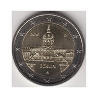 "Monedas 2€ 2018 Alemania ""Berlin"" - Allemagne"